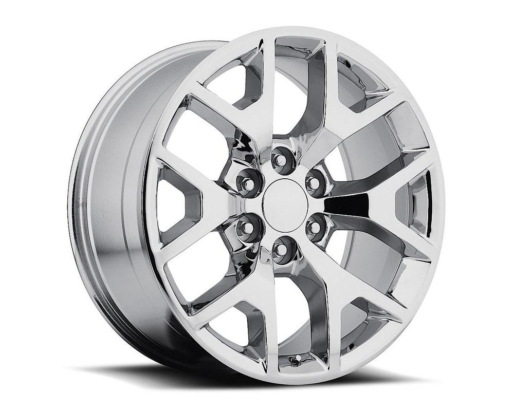 Factory Reproduction Series 44 Wheels 24x10 6x5.5 +31 HB 78.1 2014 Sierra 744 Silver Machine Face w/Cap