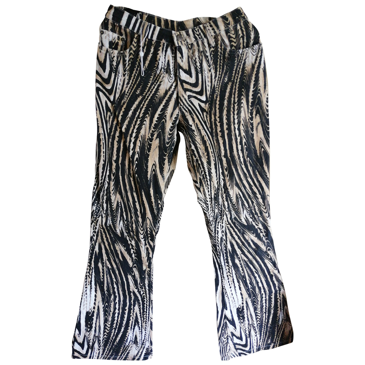 Alexander Mcqueen \N Cotton Trousers for Women 46 IT