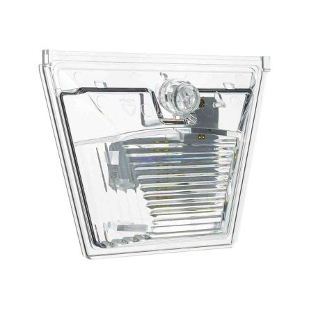 Fulleon X10 Midi Sounder Beacon Clear LED