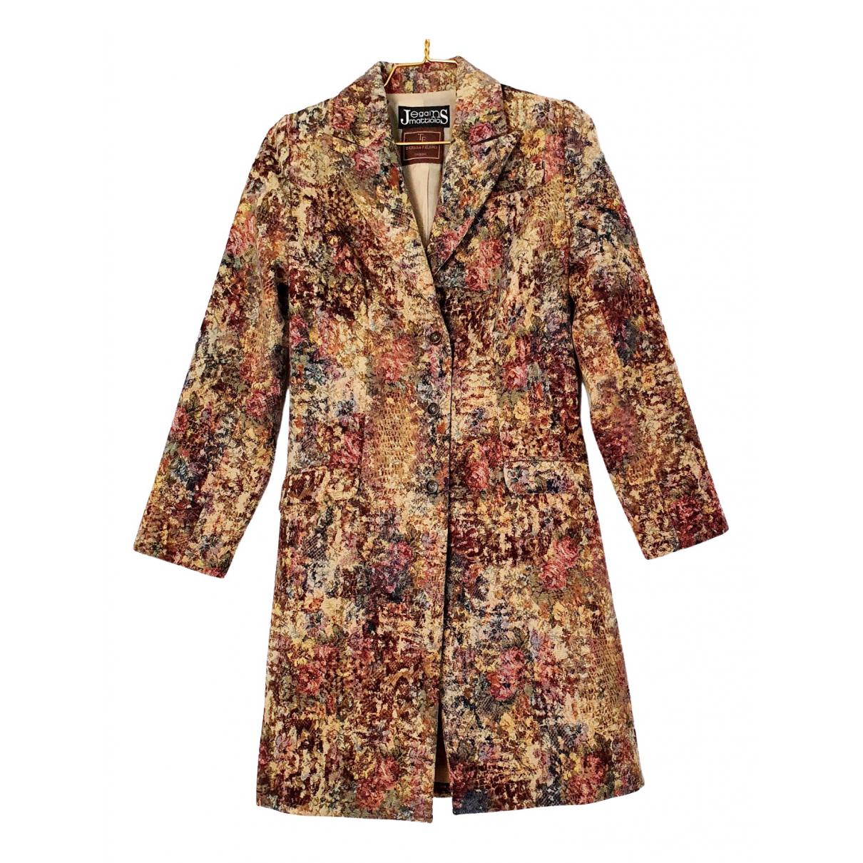 - Manteau Hippie Chic pour femme - multicolore