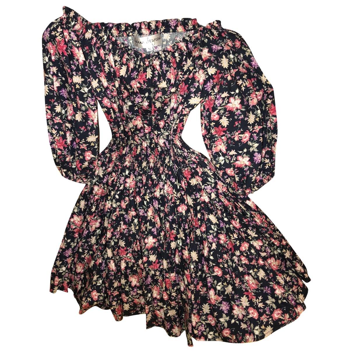 Ulyana Sergeenko \N Kleid in  Bunt Baumwolle
