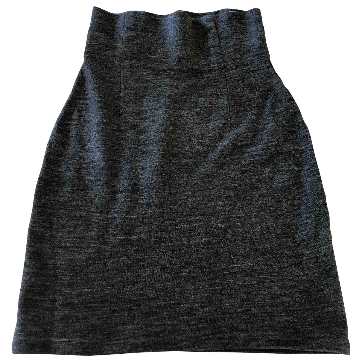 Marimekko \N Rocke in  Grau Wolle
