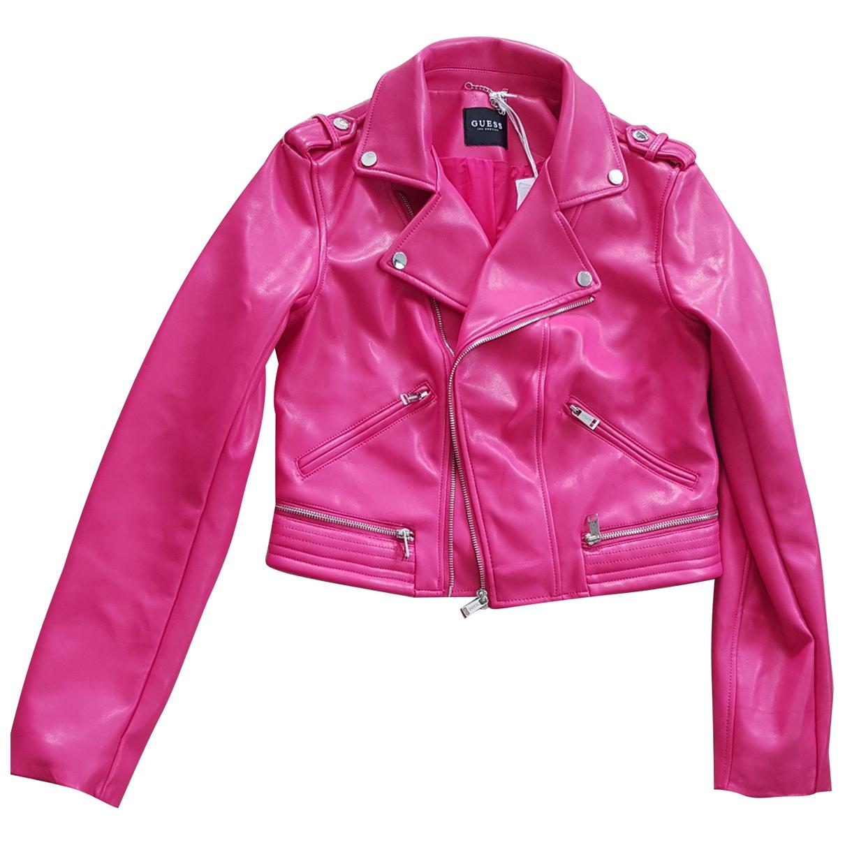 Guess \N Pink jacket for Women L International