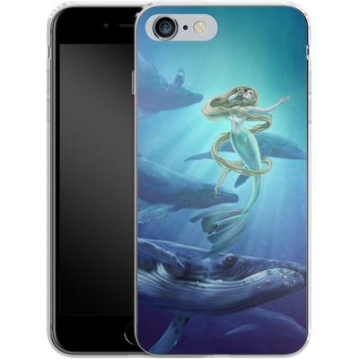 Apple iPhone 6s Plus Silikon Handyhuelle - Ocean Song von Selina Fenech