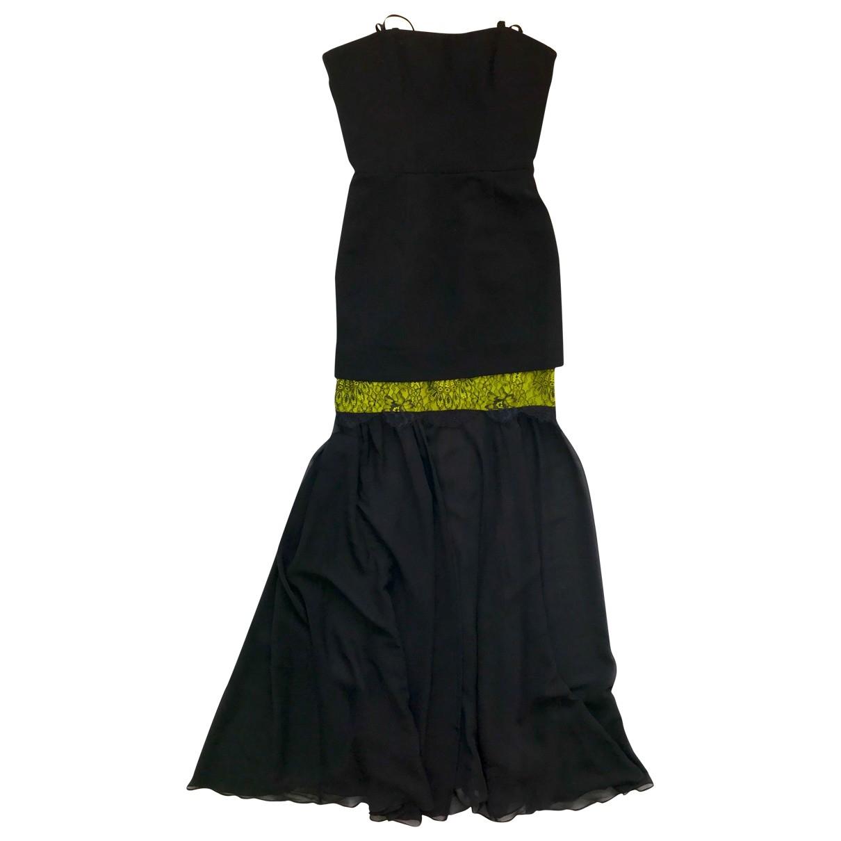 Bcbg Max Azria - Robe   pour femme en soie - noir