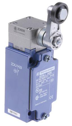 Telemecanique Sensors , Snap Action Limit Switch - Zinc Alloy, NO/NC, Lever, 240V, IP66