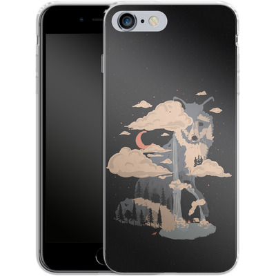 Apple iPhone 6s Plus Silikon Handyhuelle - At the foot of fox mountain von ND Tank