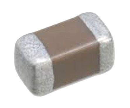 Taiyo Yuden 0402 (1005M) 1μF Multilayer Ceramic Capacitor MLCC 35V dc ±10% SMD GMK105ABJ105KV-F (100)