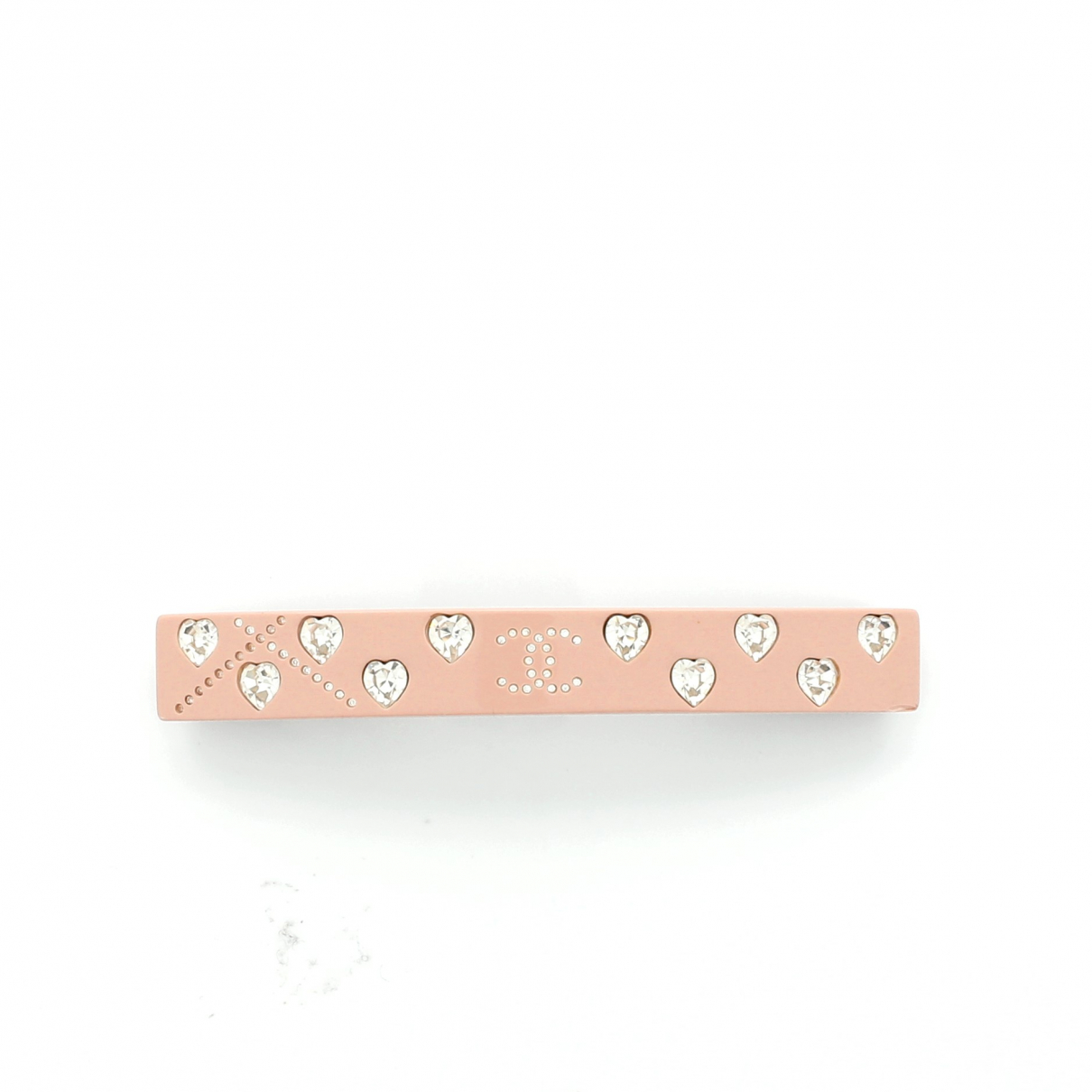 Chanel \N Pink Leather Hair accessories for Women \N