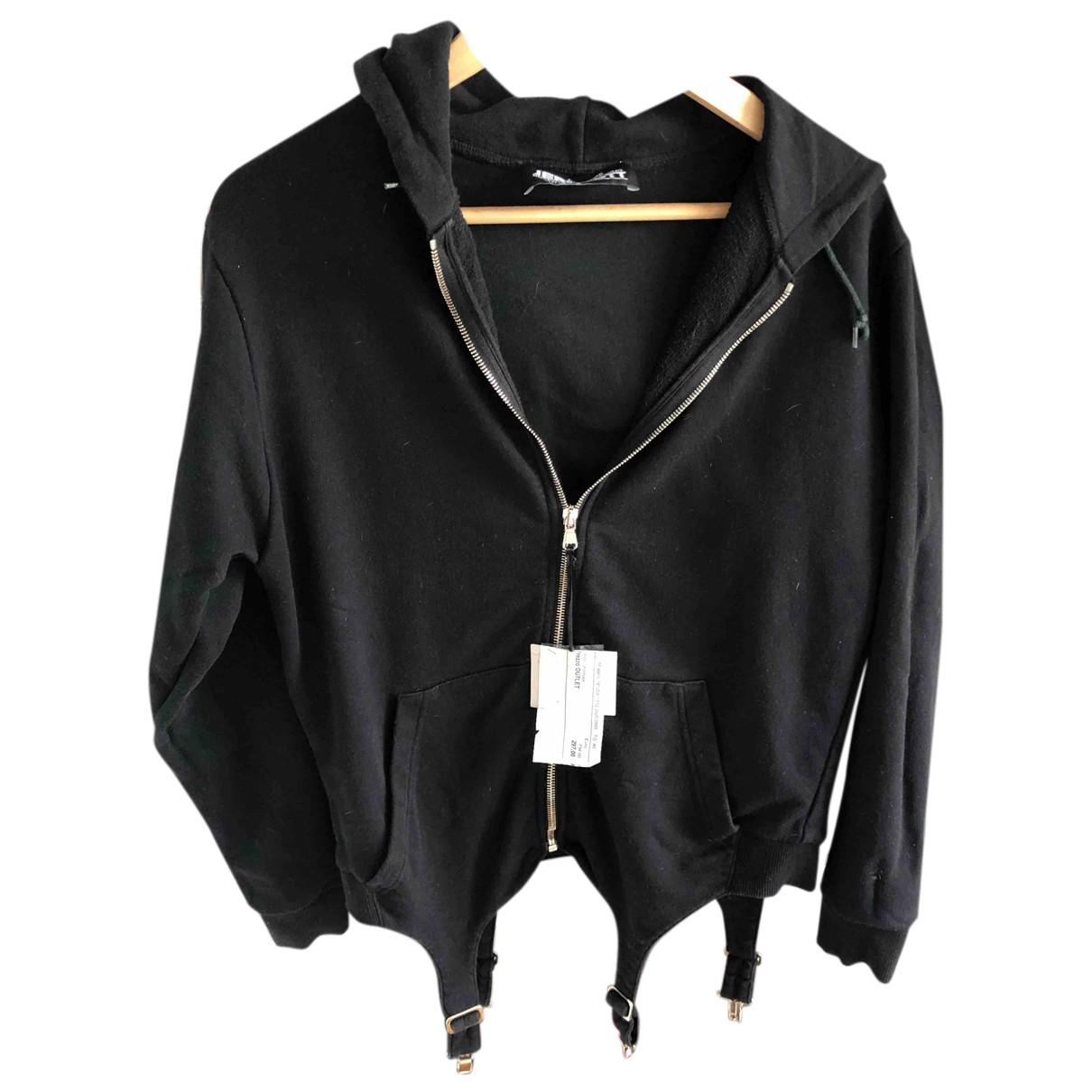 Jeremy Scott - Pull   pour femme en coton - noir