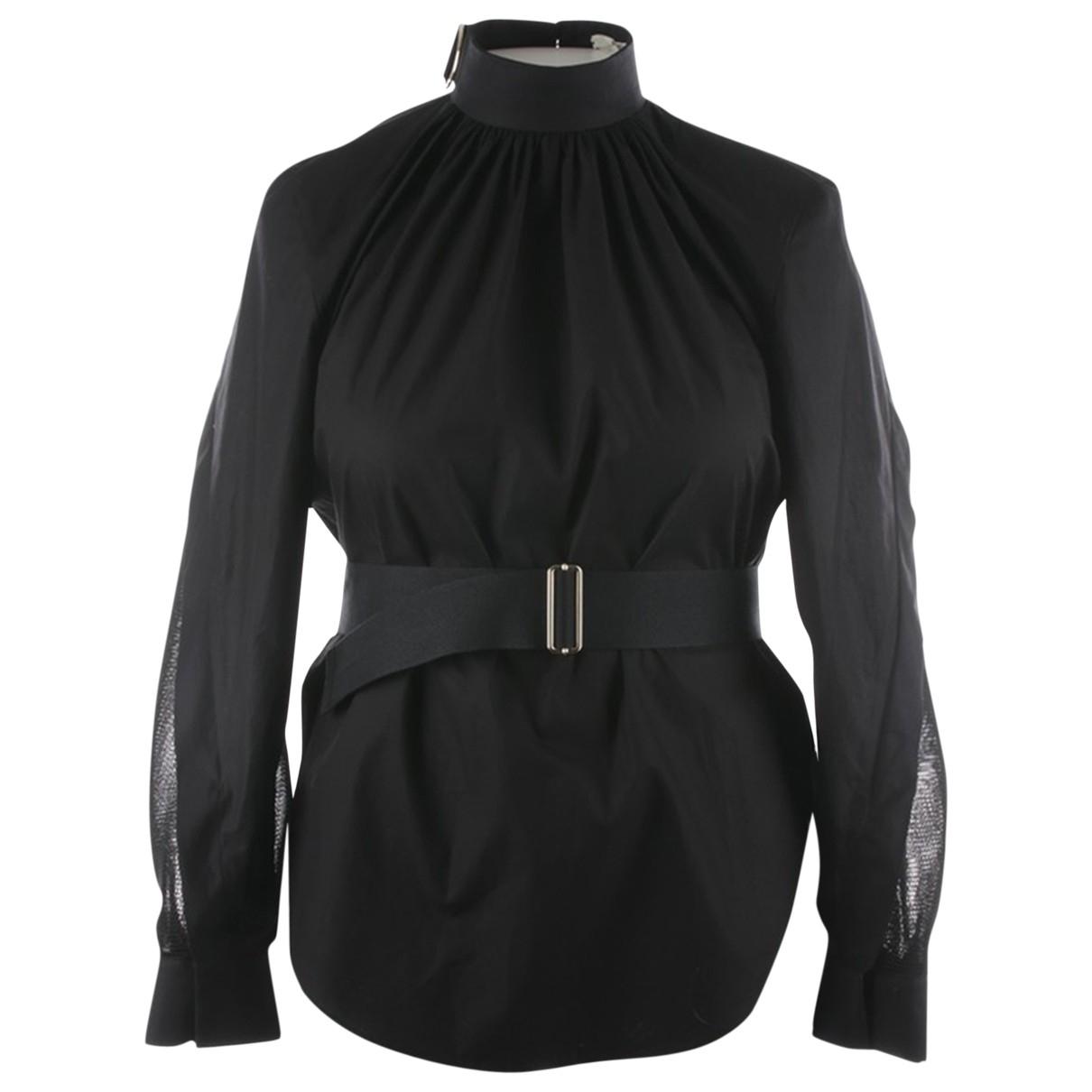 Fendi - Top   pour femme en coton - noir