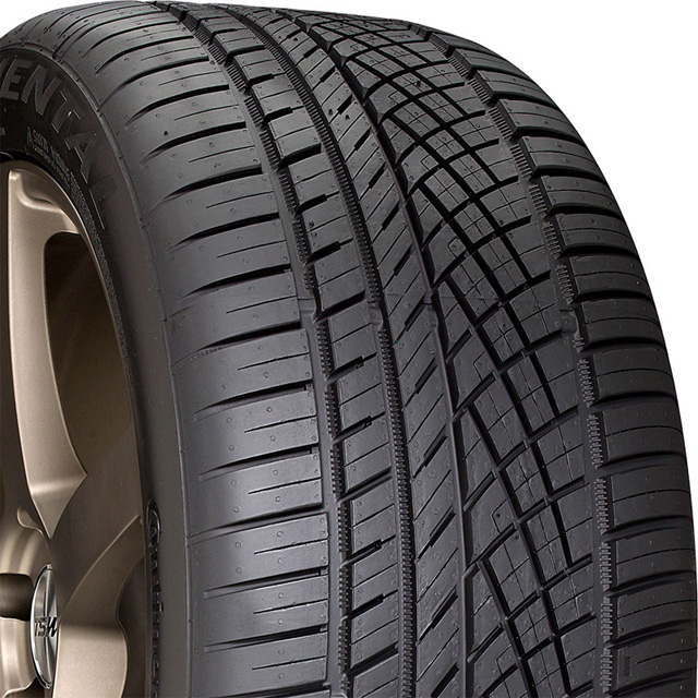 Continental 15499730000 Extreme Contact DWS 06 Tire 255 /40 R17 94W SL BSW