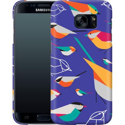 Samsung Galaxy S7 Smartphone Huelle - Birds Talk von Susana Paz