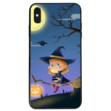 Halloween Figure Graphic iPhone Case