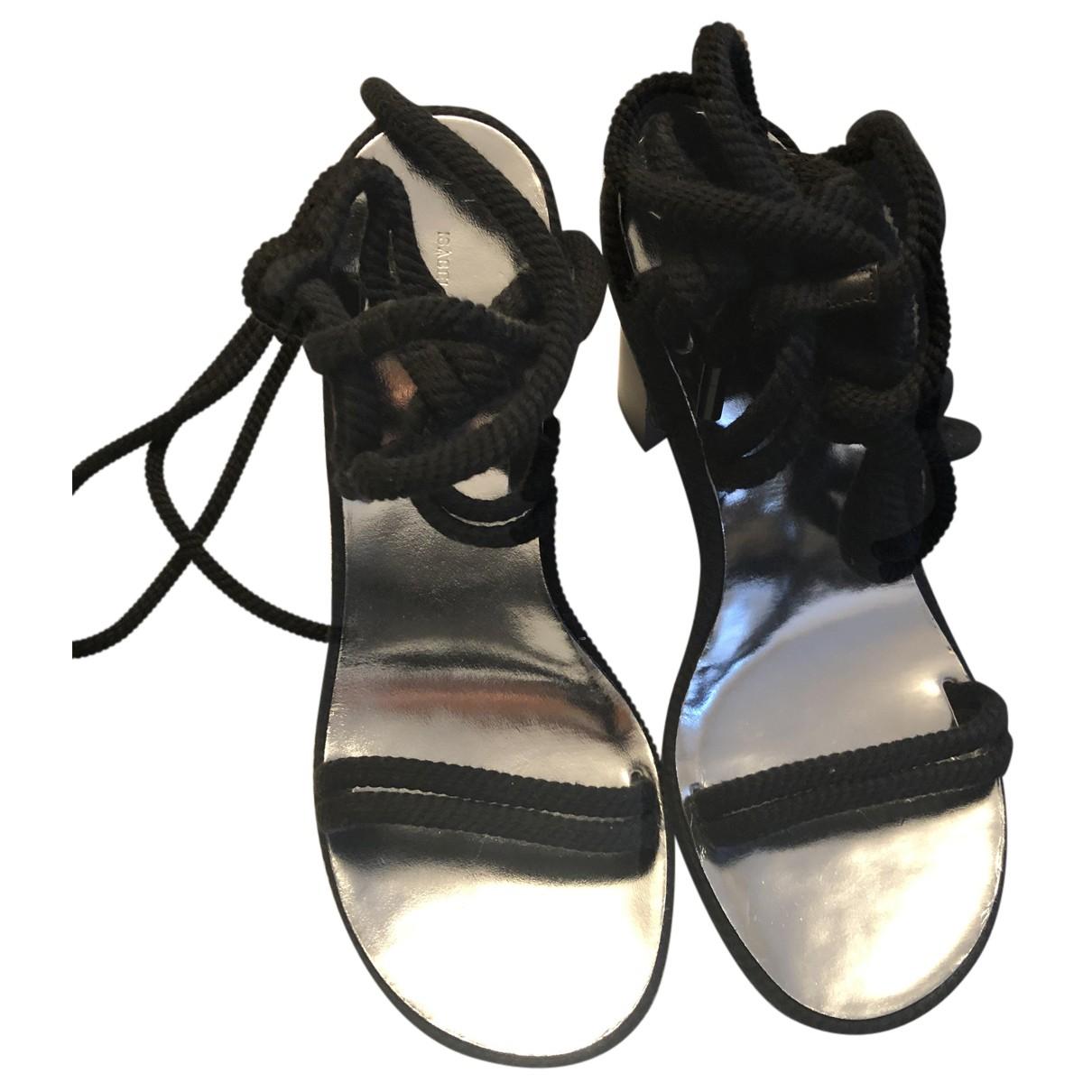 Sandalias de Lona Isabel Marant