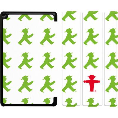 Amazon Fire HD 8 (2018) Tablet Smart Case - Green AMPELMANN Pattern von AMPELMANN