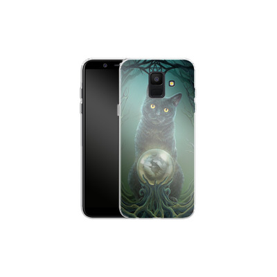 Samsung Galaxy A6 Silikon Handyhuelle - Rise of the Witches von Lisa Parker