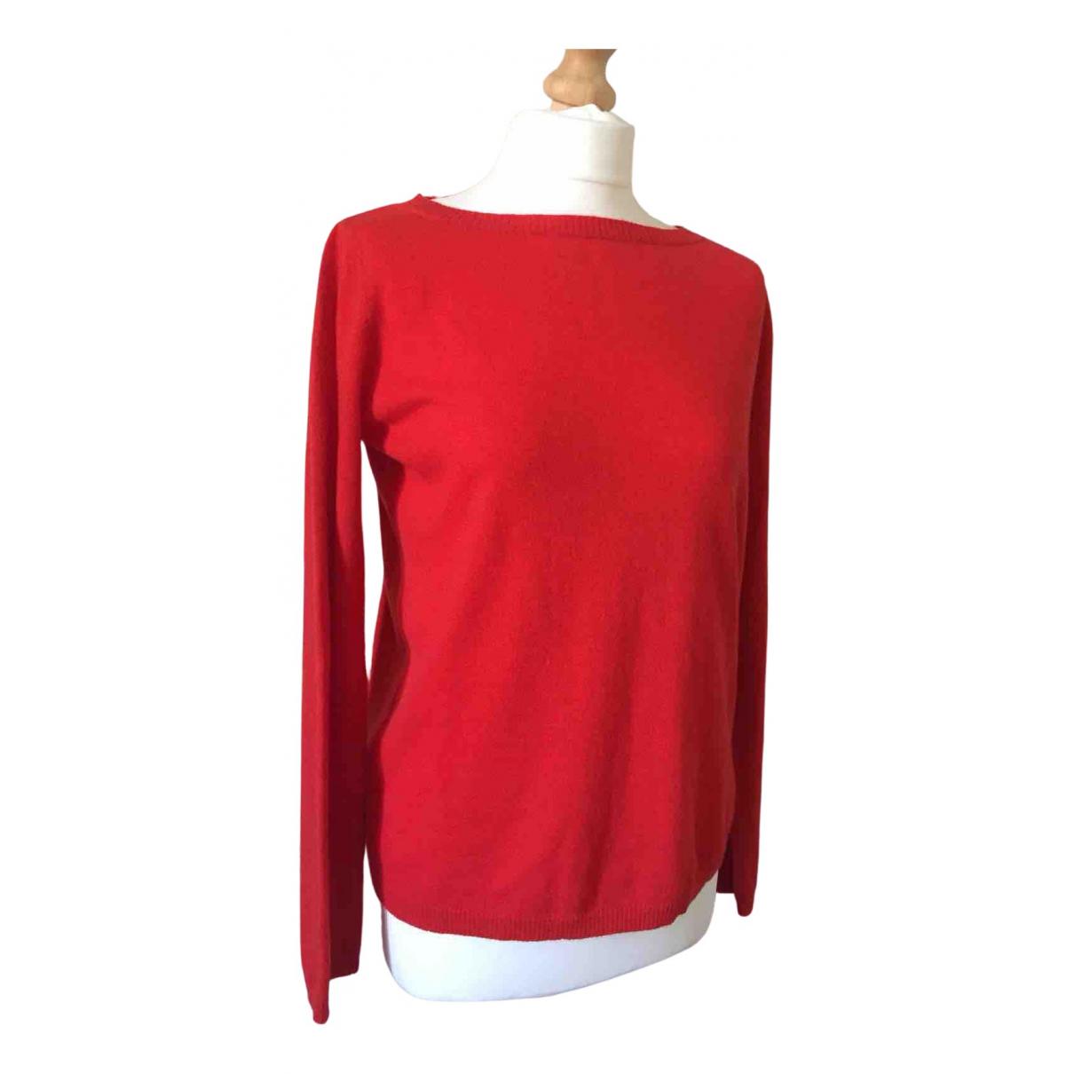- Pull   pour femme en laine - rouge
