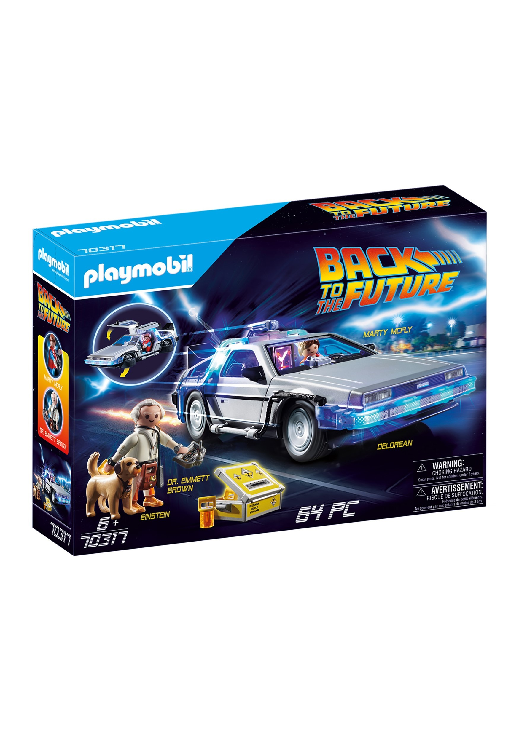 Back to the Future  Playmobil DeLorean Playset