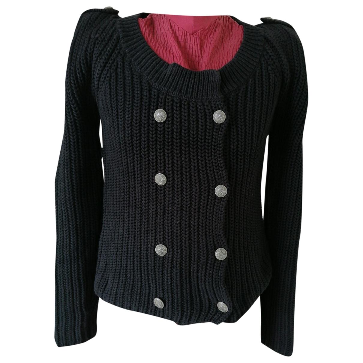 Comptoir Des Cotonniers \N Black Cotton Knitwear for Women 42 IT