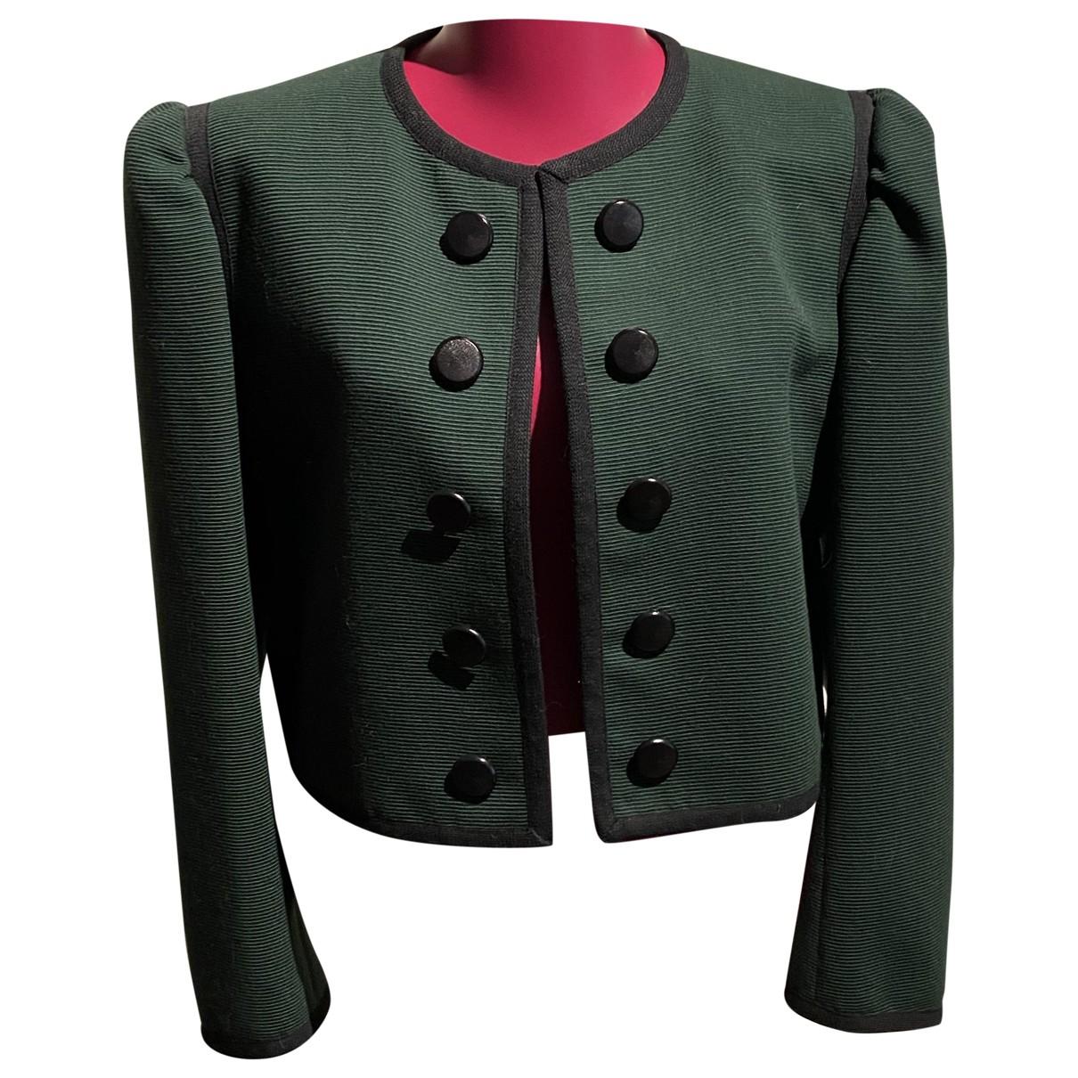 Yves Saint Laurent N Green jacket for Women 42 FR
