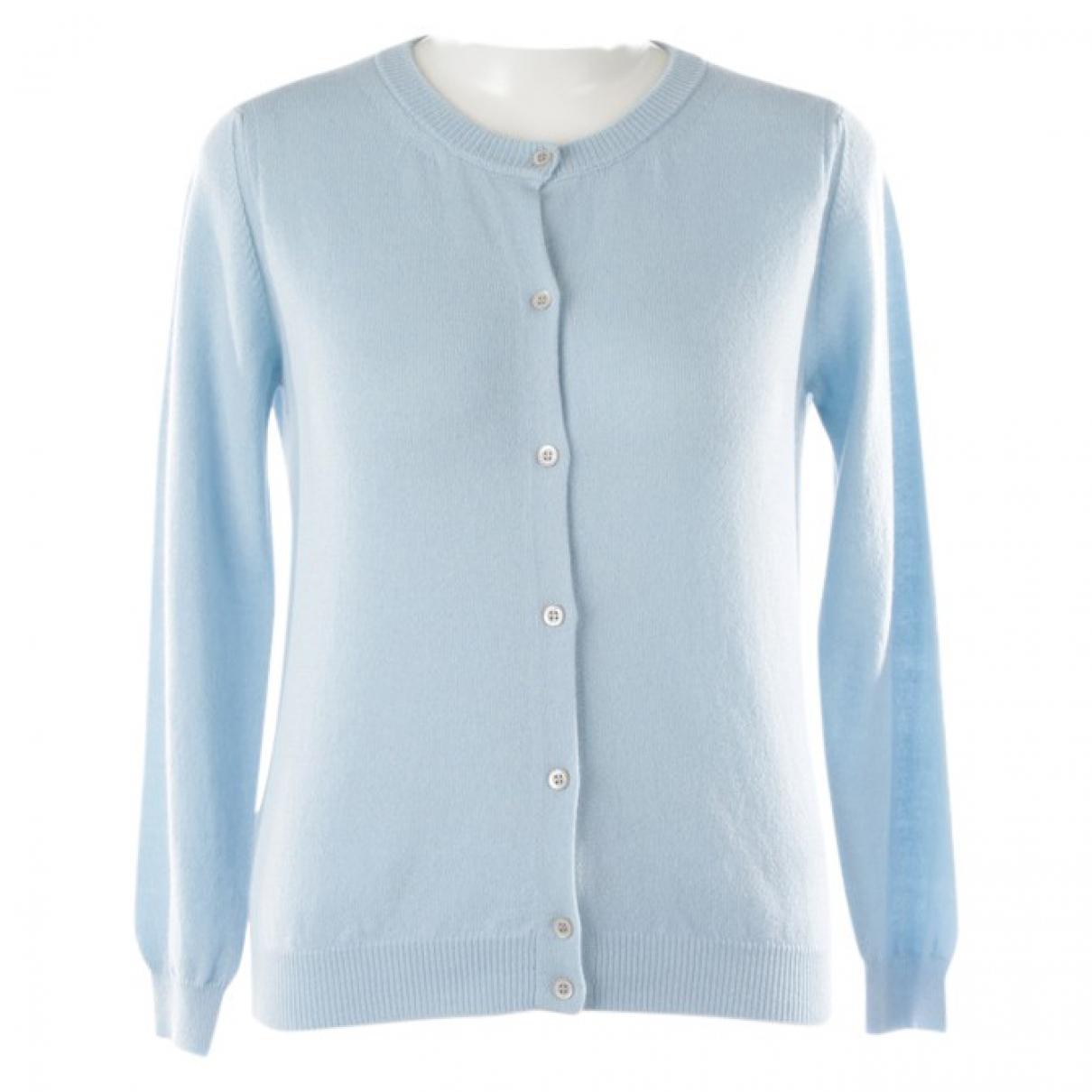 Autre Marque - Pull   pour femme en cachemire - bleu