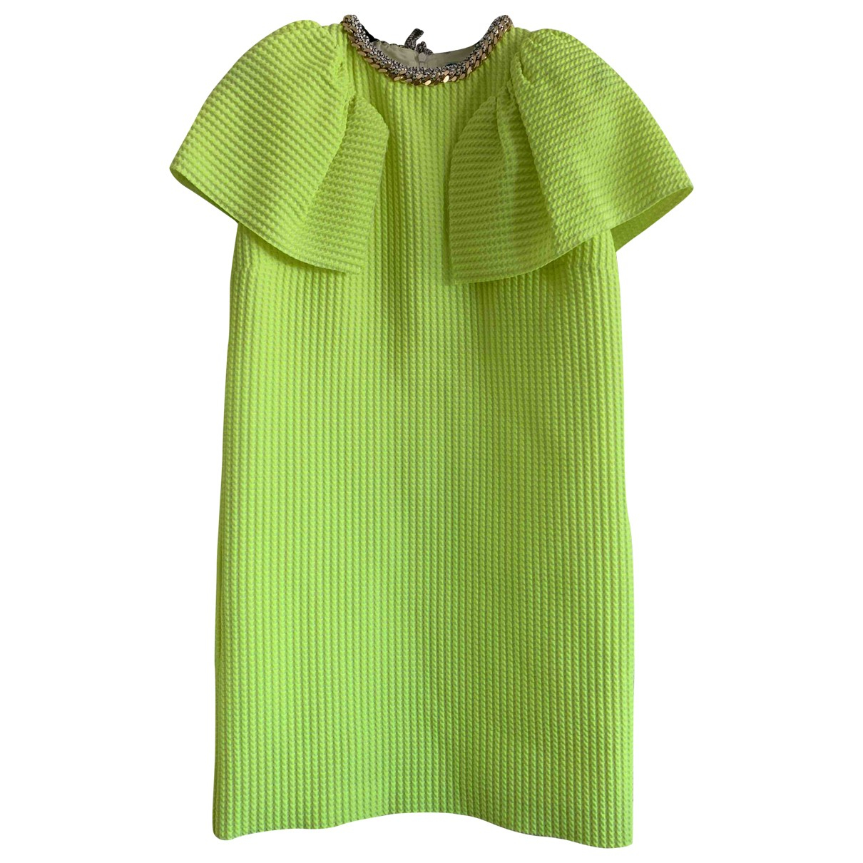 Msgm \N Green dress for Women 40 IT