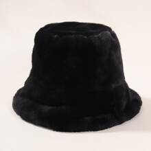 Kids Fluffy Bucket Hat