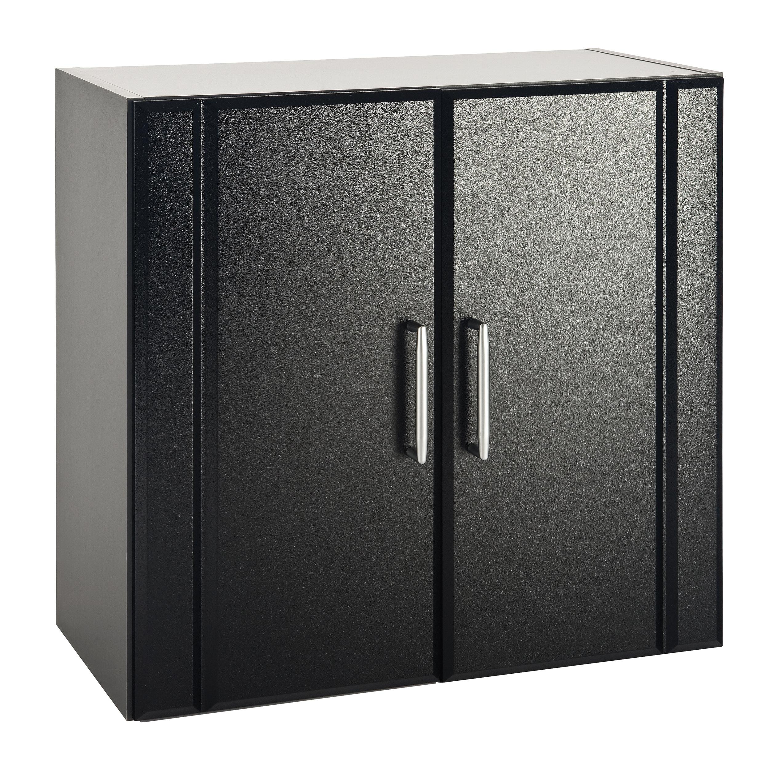 Wall Cabinet 2-Door, Black