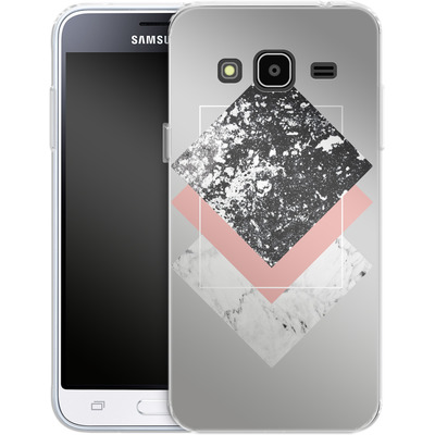 Samsung Galaxy J3 (2016) Silikon Handyhuelle - Geometric Textures 1 von Mareike Bohmer