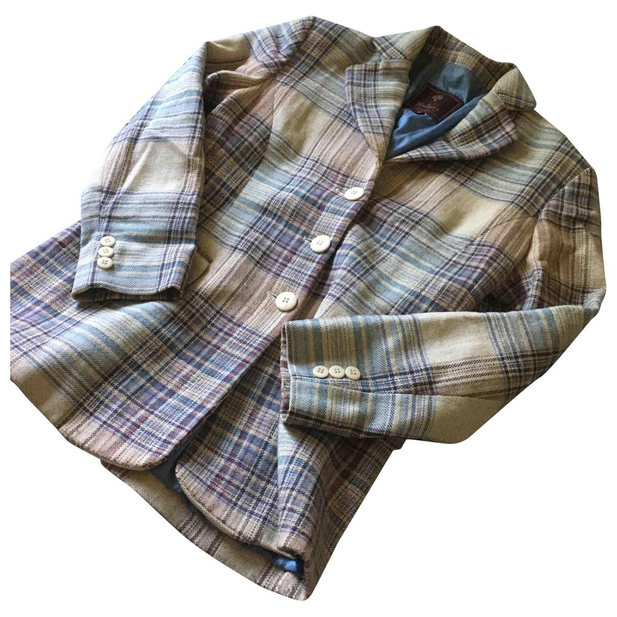 Mulberry - Veste   pour femme en laine - ecru