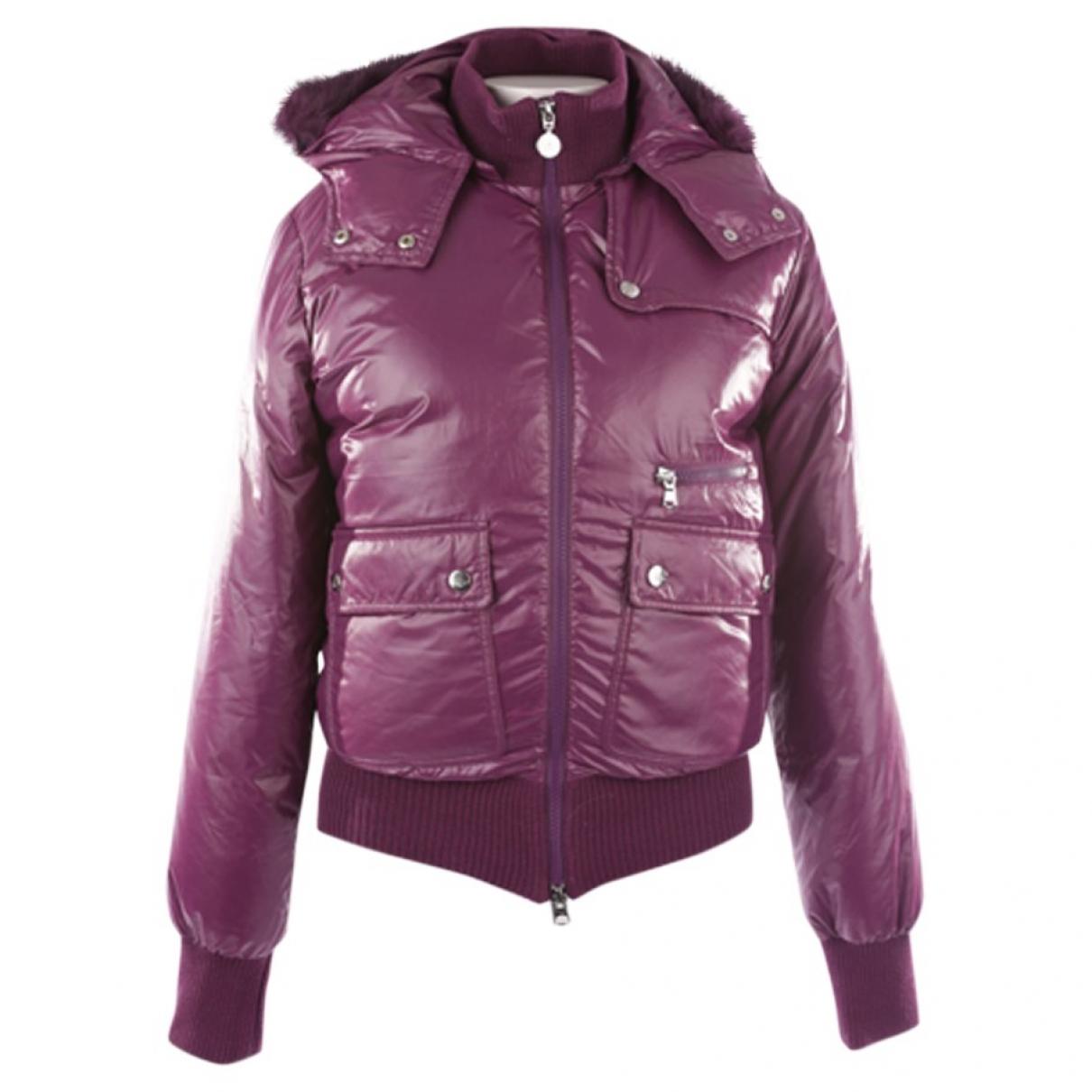 Emporio Armani \N Purple jacket for Women 38 FR