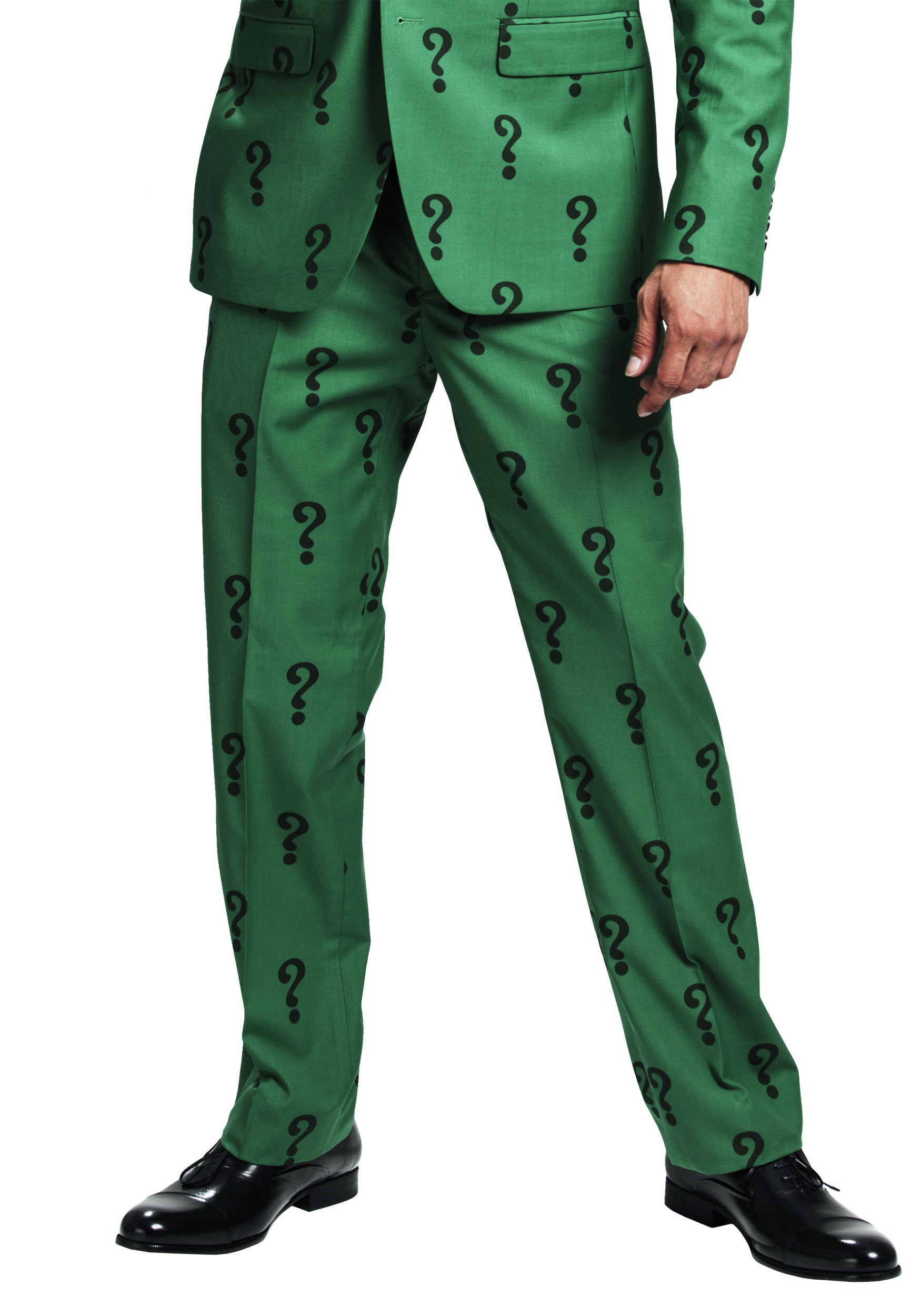 Authentic The Riddler Slim Fit Suit Pants