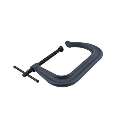 Wilton 4400 Series Forged C-Clamp - Extra Deep-Throat, Regular-Duty, 2 In. to 8 In. Jaw Opening, 6 In. Throat Depth