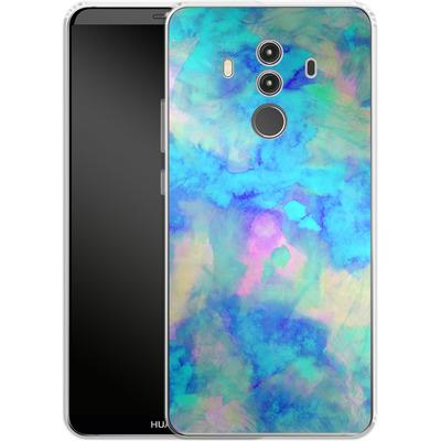 Huawei Mate 10 Pro Silikon Handyhuelle - Electrify Ice Blue von Amy Sia