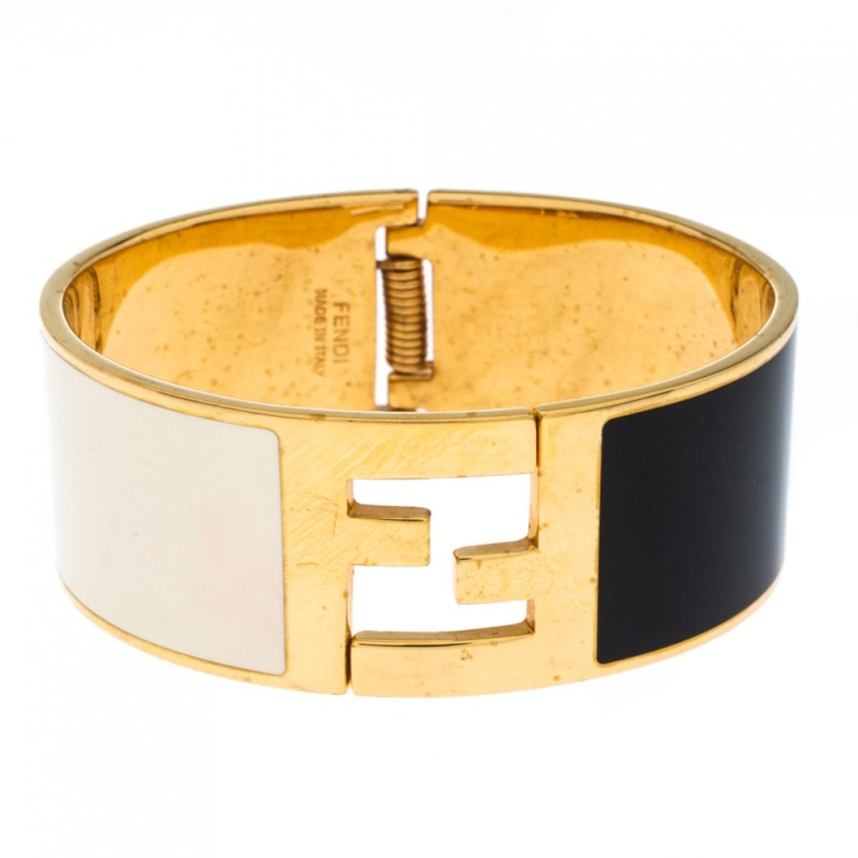Fendi - Bracelet The Fendista pour femme en metal - multicolore