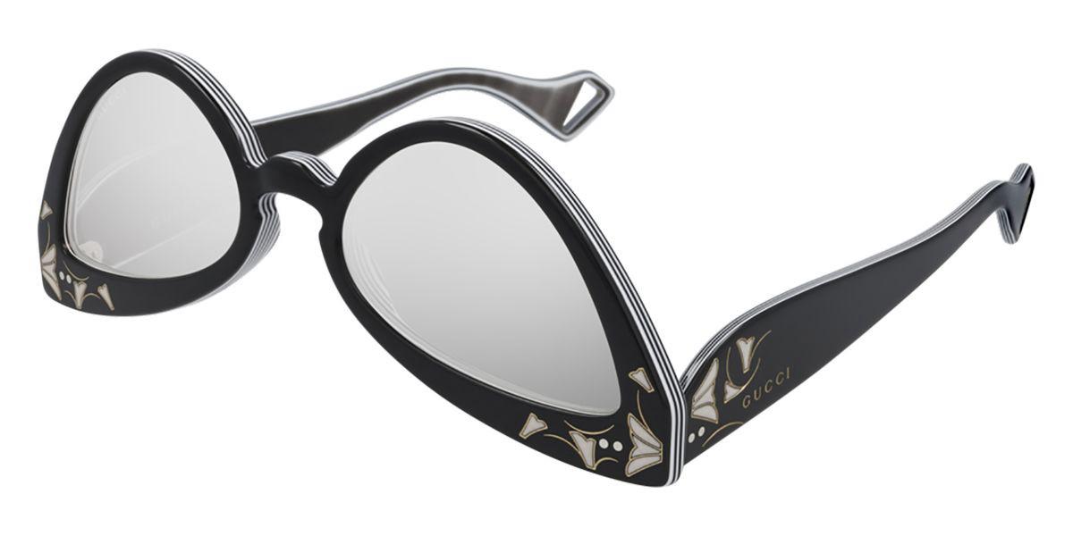 Gucci GG0874S 003 Women's Sunglasses Black Size 55 - Free RX Lenses