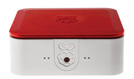 DesignSpark Quattro Series For Use With Raspberry Pi 2, Raspberry Pi 3, Raspberry Pi B+, Red, White Raspberry Pi Case