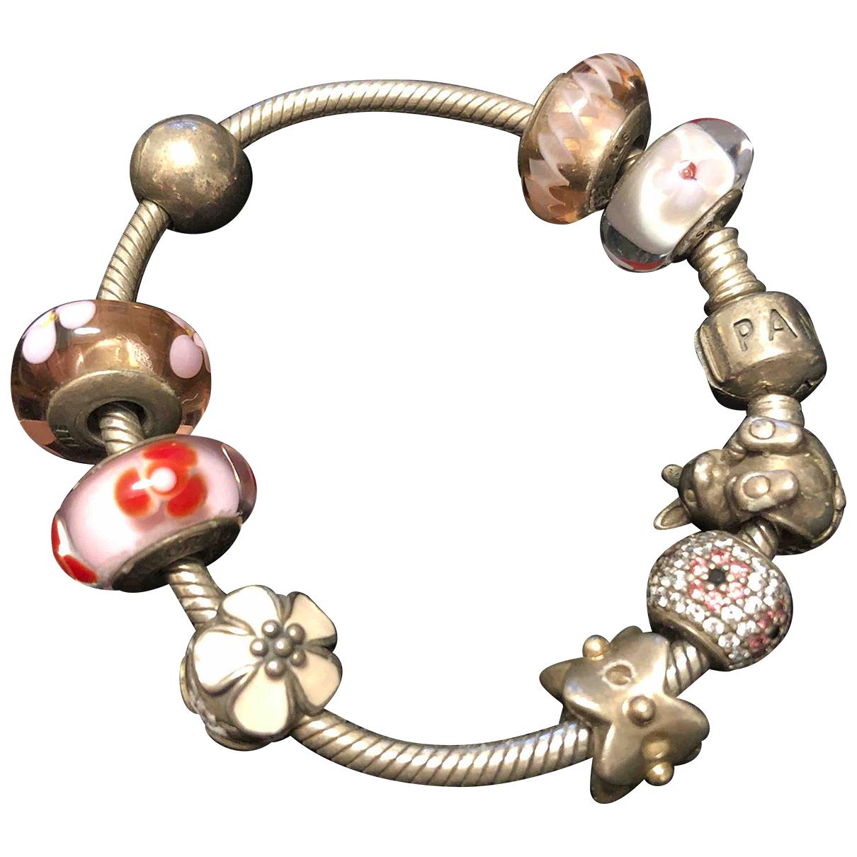 Pandora - Bracelet   pour femme en argent - multicolore