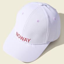 Baseball Hut mit Buchstaben Stickereien