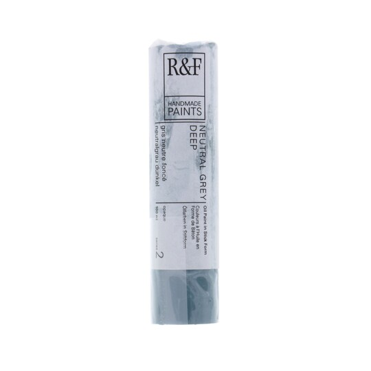 R&f® Handmade Paints Pigment Stick®, 100 ml By R&f Handmade Paints in Neutral Gray Deep | Michaels®