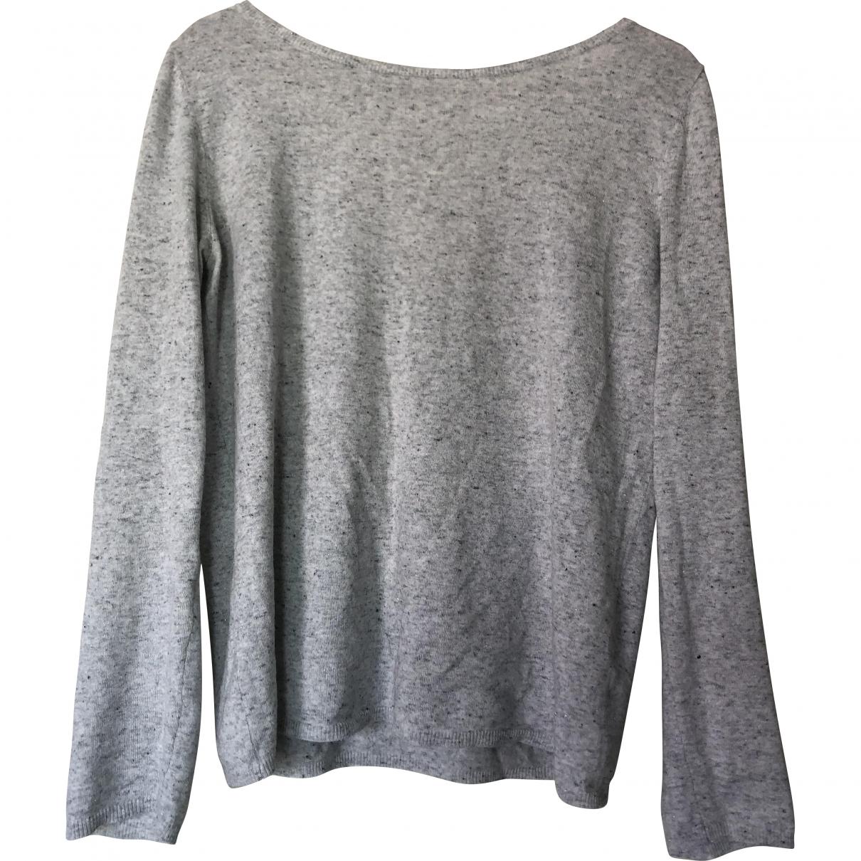 Des Petits Hauts - Pull   pour femme en coton - gris