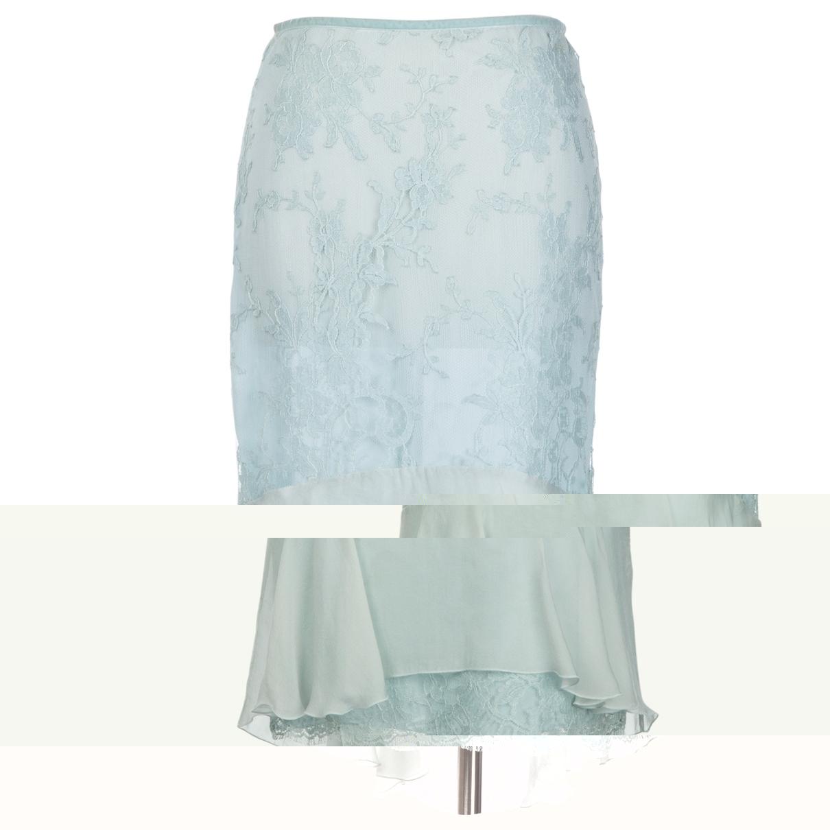 Valentino Garavani \N Blue skirt for Women 38 IT