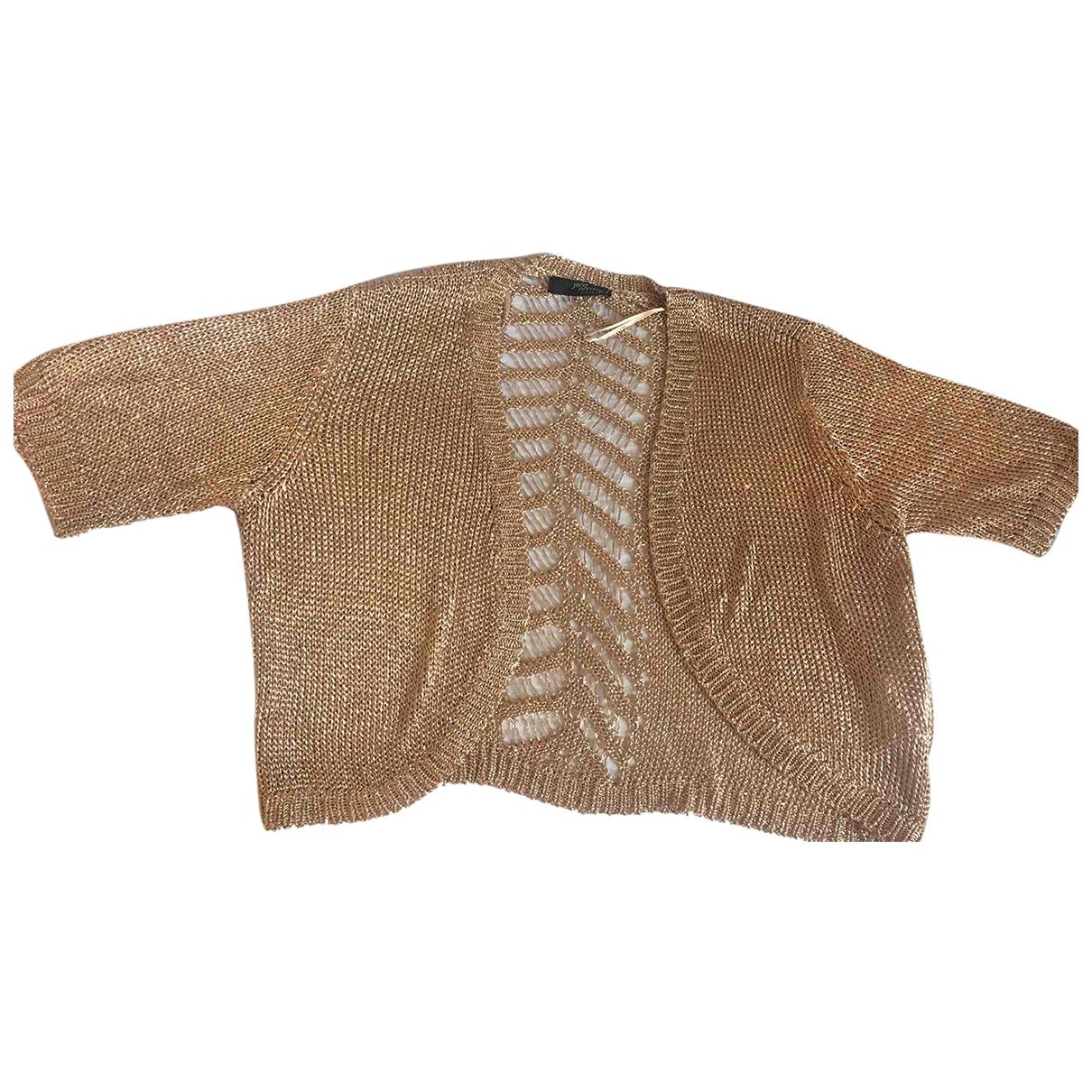 - Robe   pour femme en coton - metallise