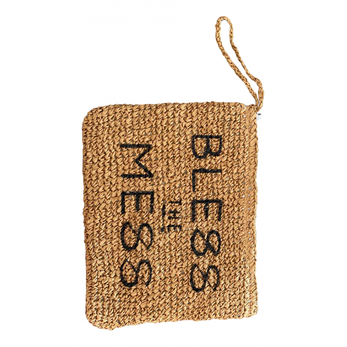 Bless The Mess \N Clutch in  Kamel Stroh