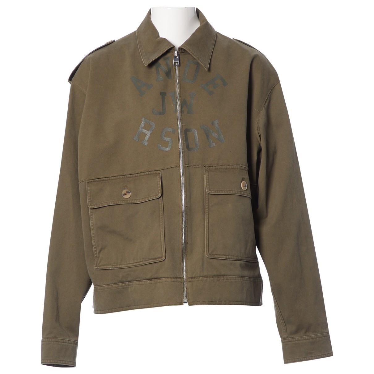 J.w. Anderson \N Khaki Cotton jacket for Women 50-52 IT