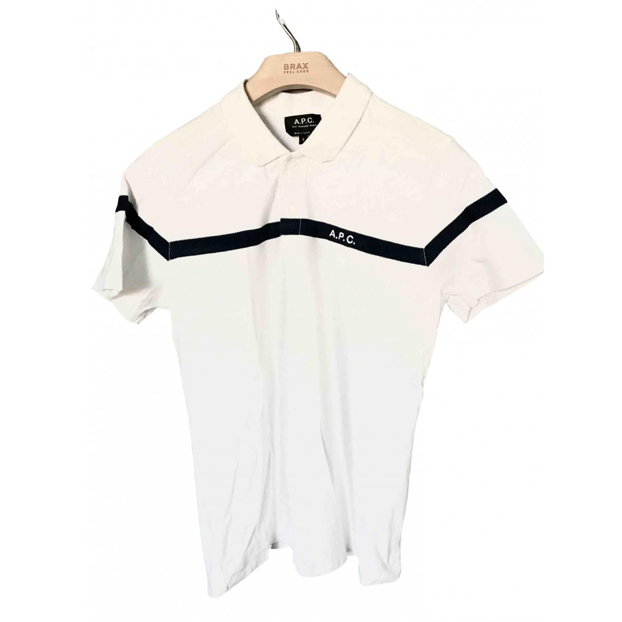 Apc \N White Cotton Polo shirts for Men S International