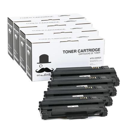Compatible Dell 330-9523 2MMJP 7H53W cartouche de toner noire haute capacite - Moustache@ - 4/paquet