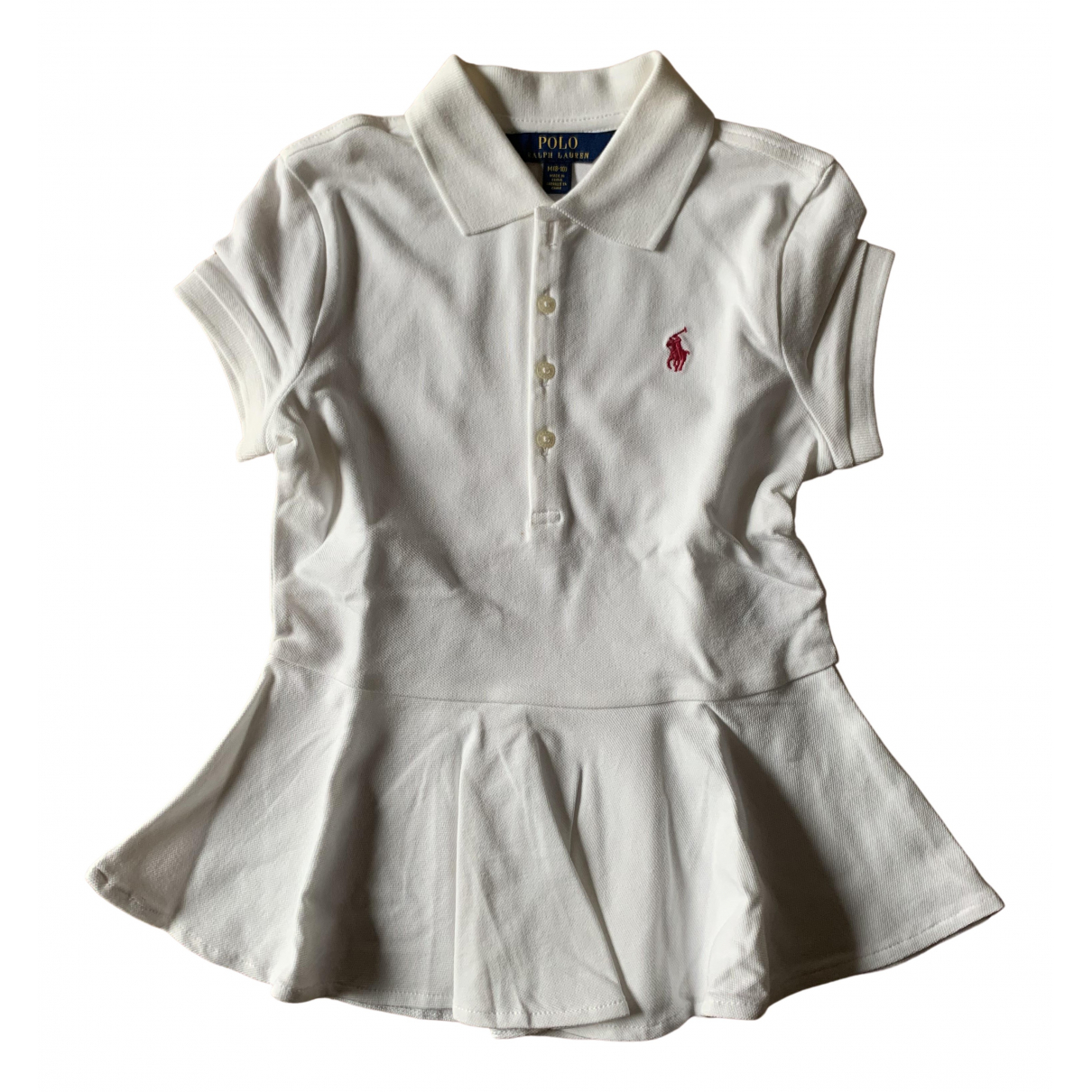 Polo Ralph Lauren N White Cotton  top for Kids 8 years - up to 128cm FR