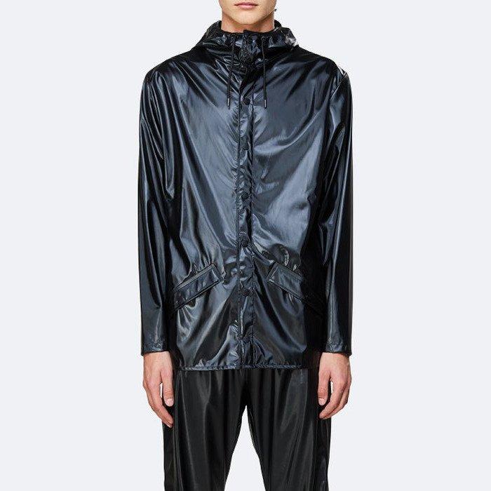 Rains Jacket 1201 SHINY BLACK